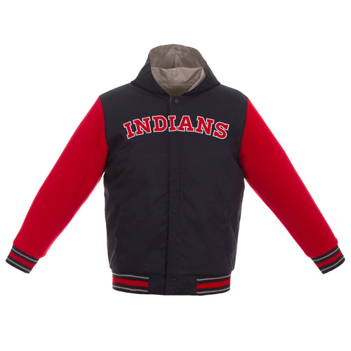Cleveland Indians Toddlers Reversible Poly-Twill Jacket