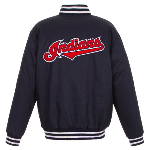 Cleveland Indians Poly-Twill Jacket