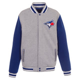 Toronto Blue Jays Reversible Fleece Jacket