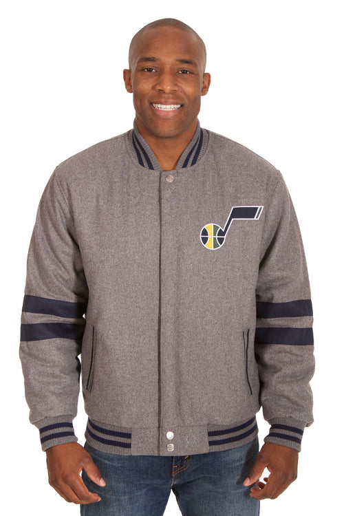 Utah Jazz Reversible Wool Jacket