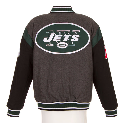 New York Jets Reversible Wool Jacket