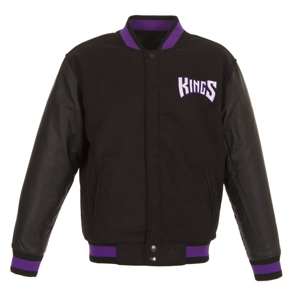 Sacramento Kings Reversible Melton Jacket