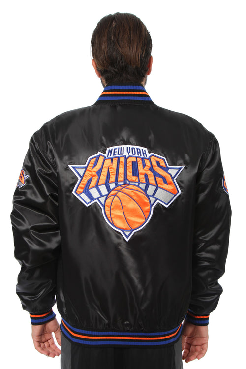 New York Knicks Matte Satin Jacket