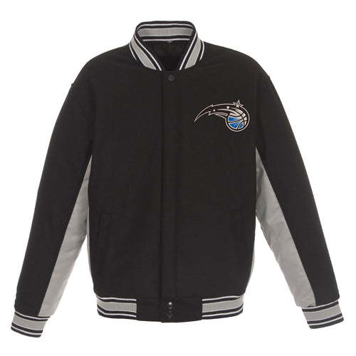 Orlando Magic Reversible Wool Jacket (Front Logos Only)