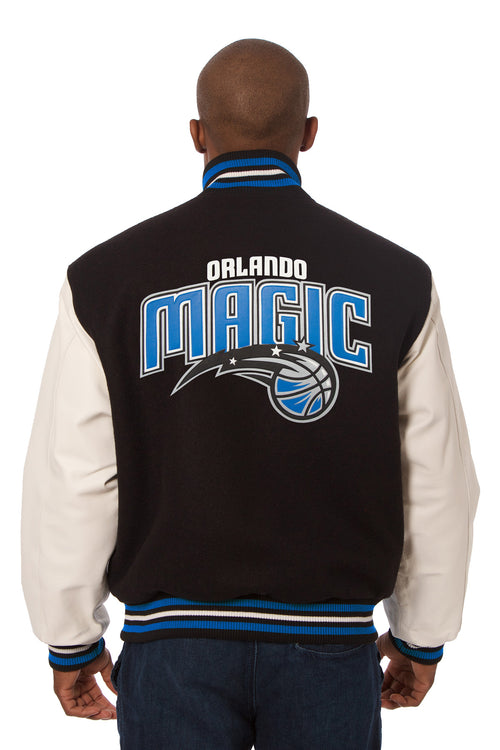 Orlando Magic Domestic Wool and Leather Jacket