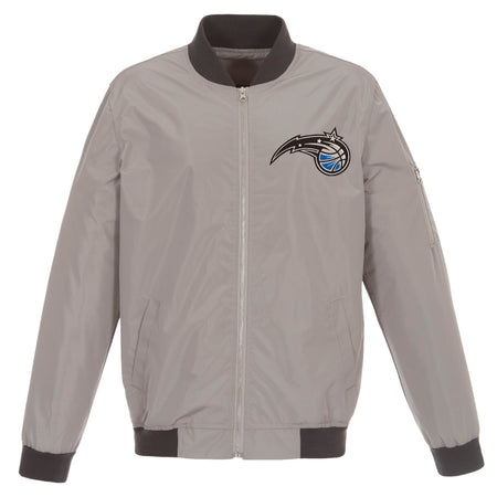 Orlando Magic Reversible Fleece and Faux Leather Jacket