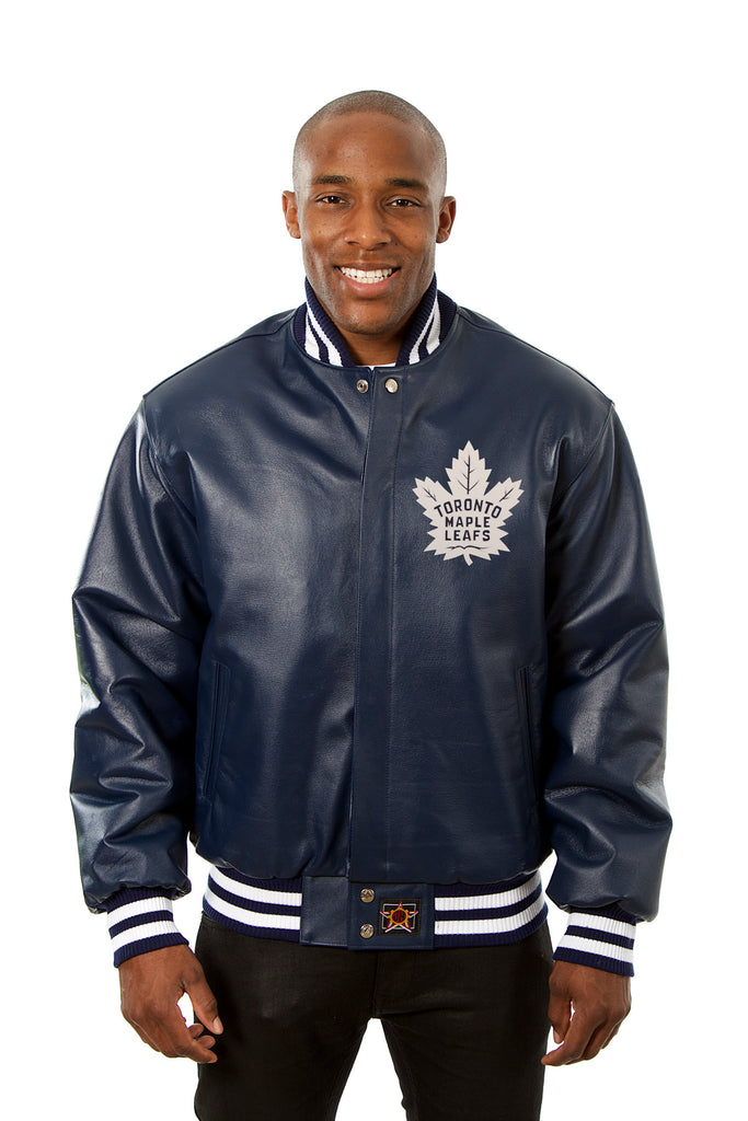 Toronto Maple Leafs Full Leather Jacket Jh Design Group