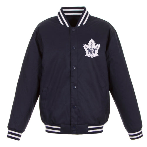 Toronto Maple Leafs Poly-Twill Jacket (Front Logo Only)
