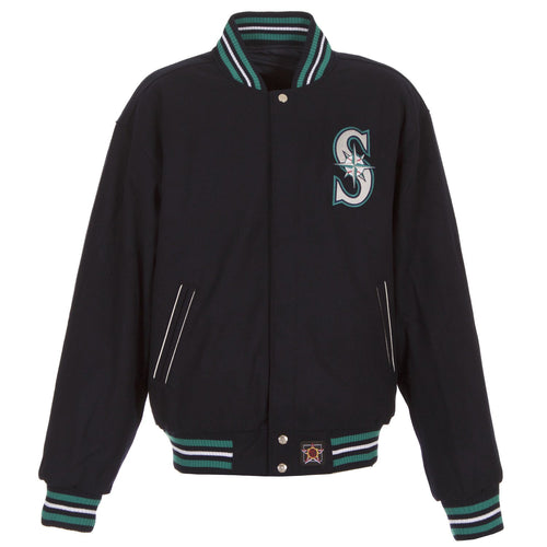 Seattle Mariners Reversible Wool Jacket