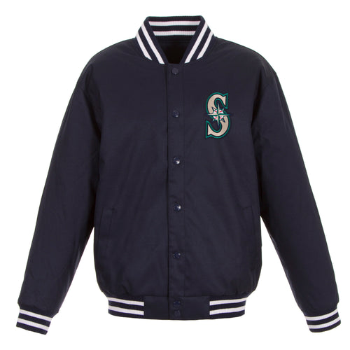 Seattle Mariners Poly-Twill Jacket
