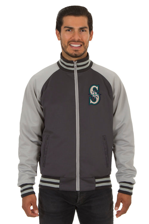 Seattle Mariners Reversible Polyester Track Jacket