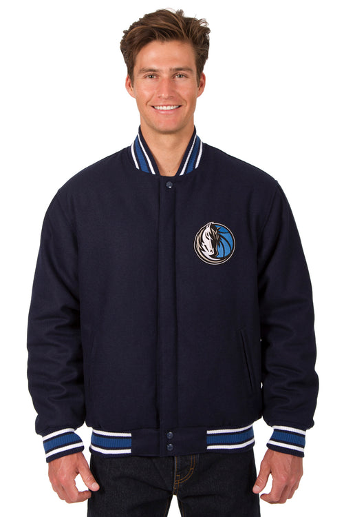 Dallas Mavericks Reversible All-Wool Jacket