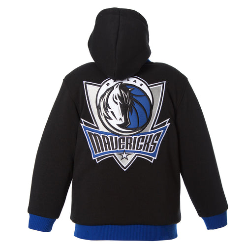 Dallas Mavericks Kid's Reversible Fleece Jacket