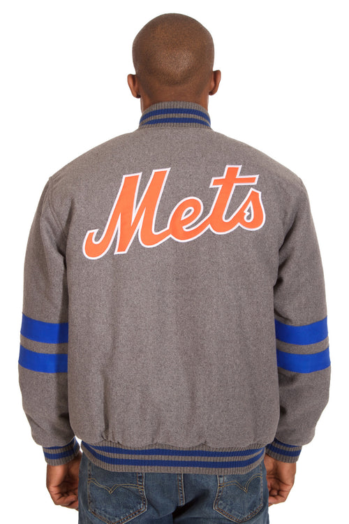 New York Mets Reversible Wool Jacket