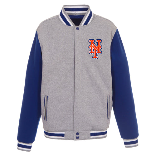New York Mets Reversible Fleece Jacket