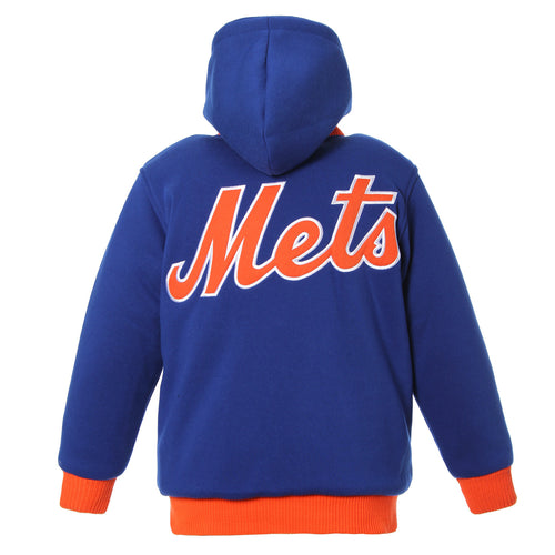 New York Mets Kid's Reversible Fleece Jacket