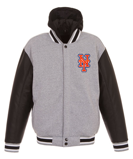 New York Mets All-Wool Reversible Jacket