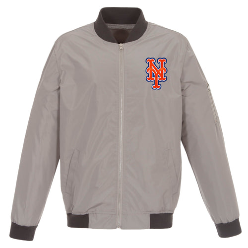New York Mets Nylon Bomber Jacket