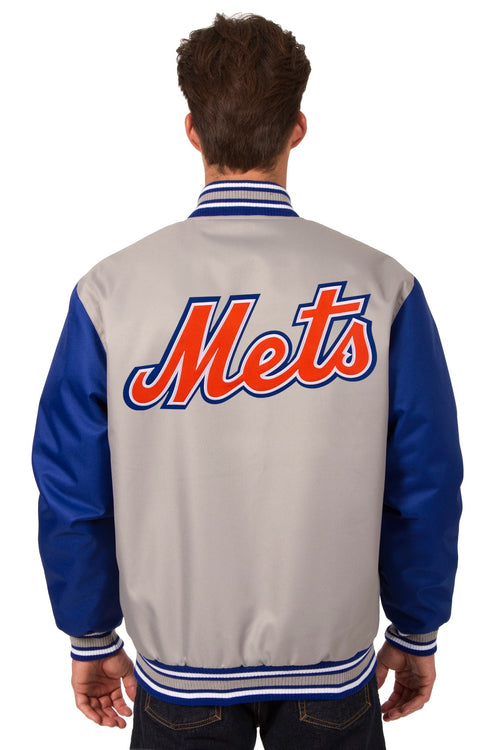 New York Mets Poly-Twill Jacket