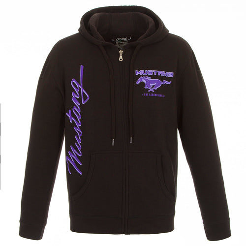 Ford Mustang Ladies Zip-up Sweatshirt