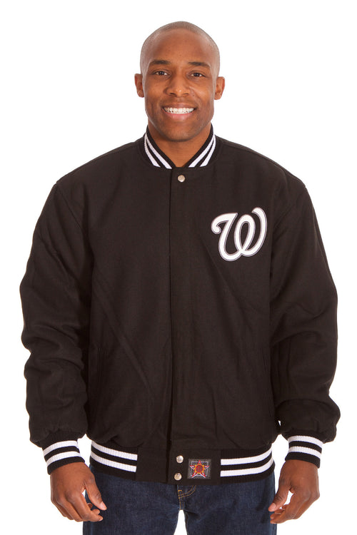 Washington Nationals Reversible Wool Jacket