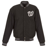 Washington Nationals Reversible All Wool Jacket