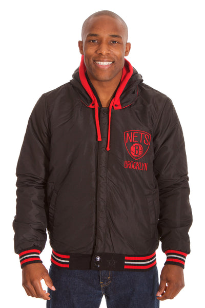 Brooklyn Nets Reversible Fleece Jacket