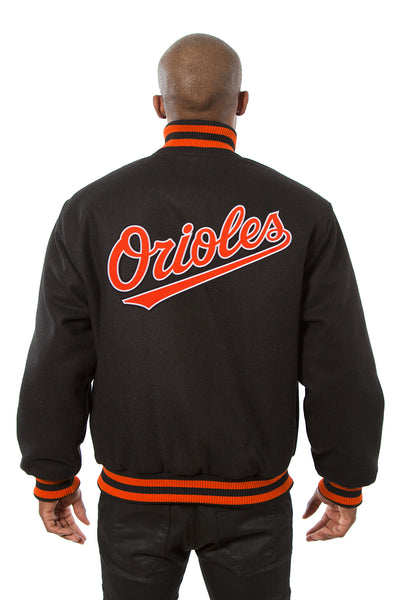 Baltimore Orioles Embroidered Wool Jacket