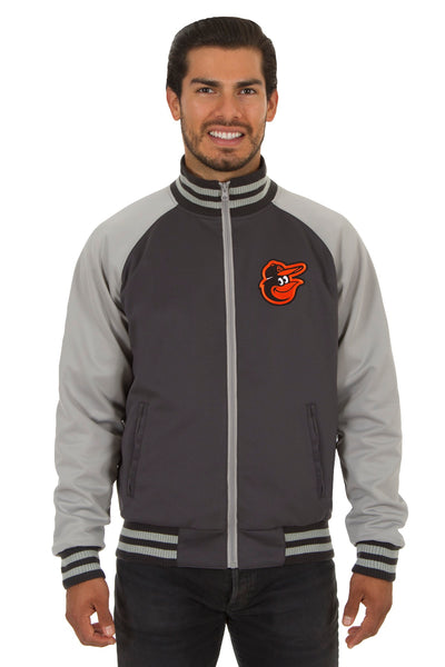 Baltimore Orioles Reversible Polyester Track Jacket