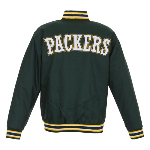 Green Bay Packets Poly-Twill Jacket