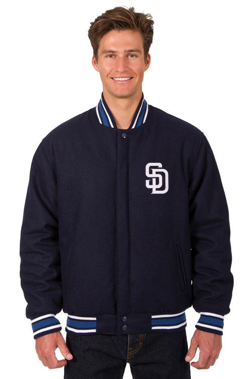 San Diego Padres All-Wool Reversible Jacket