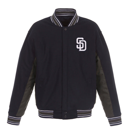 San Diego Padres Reversible Wool Jacket
