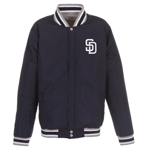 San Diego Padres Reversible Fleece Jacket