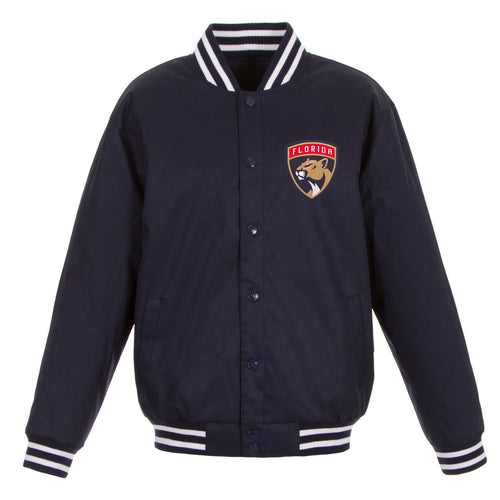 Florida Panthers Poly-Twill Jacket (Front Logo Only)