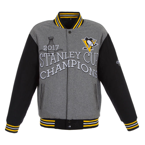 Pittsburgh Penguins 2017 Stanley Cup Championship Jacket