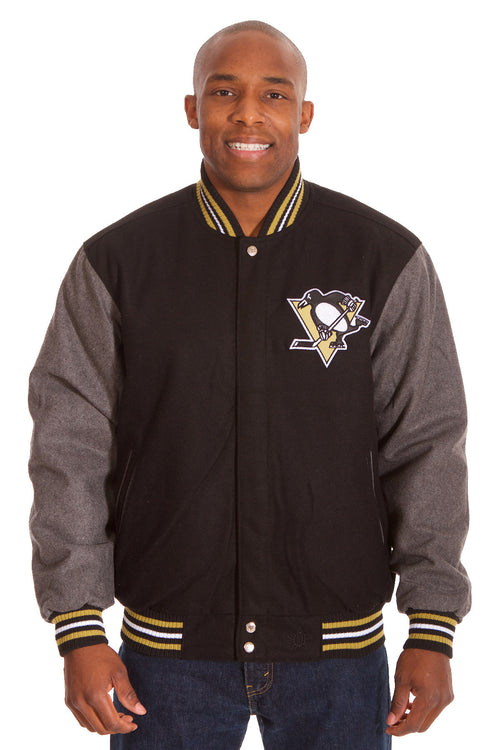 Pittsburgh Penguins Reversible Wool Jacket
