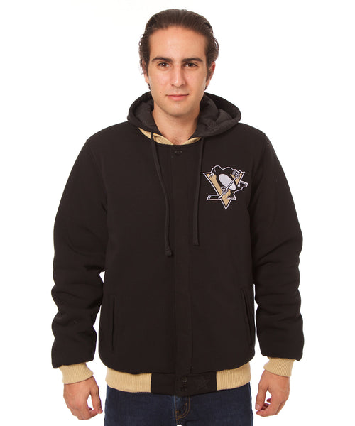 Pittsburgh Penguins Reversible Fleece Jacket