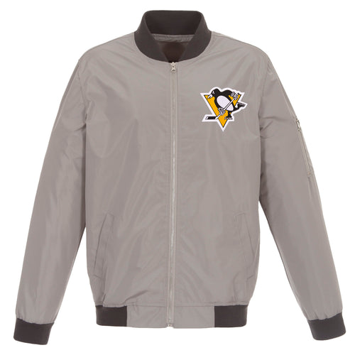 Pittsburgh Penguins Nylon Bomber Jacket