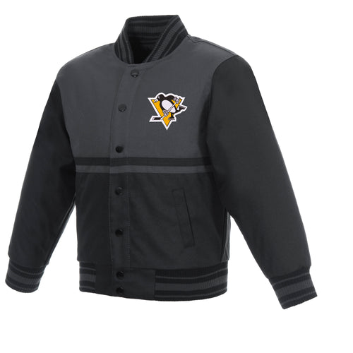 Pittsburgh Penguins Kids Poly-Twill Jacket
