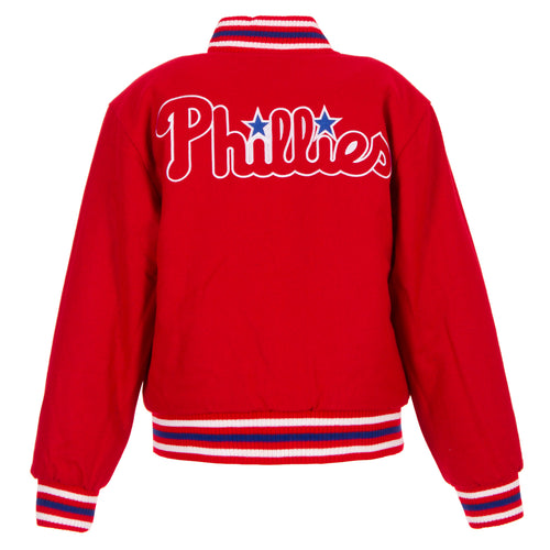 Philadelphia Phillies Kid's Reversible All Wool Jacket