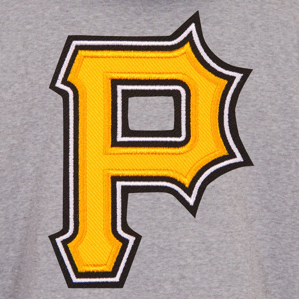 Pittsburgh Pirates Reversible Fleece Jacket with Faux Leather Sleeves