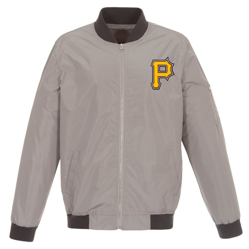 Pittsburgh Pirates Nylon Bomber Jacket