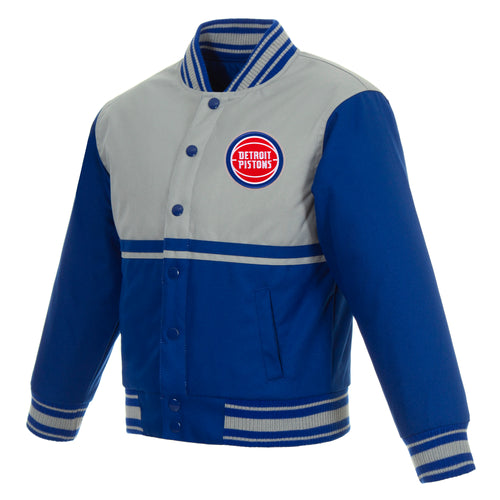 Detroit Pistons Kids Poly-Twill Jacket