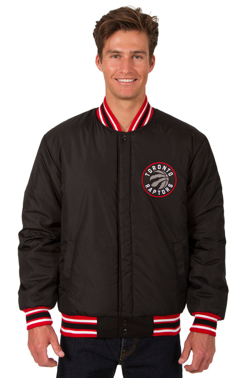 Toronto Raptors Reversible All-Wool Jacket (Front Logos Only)