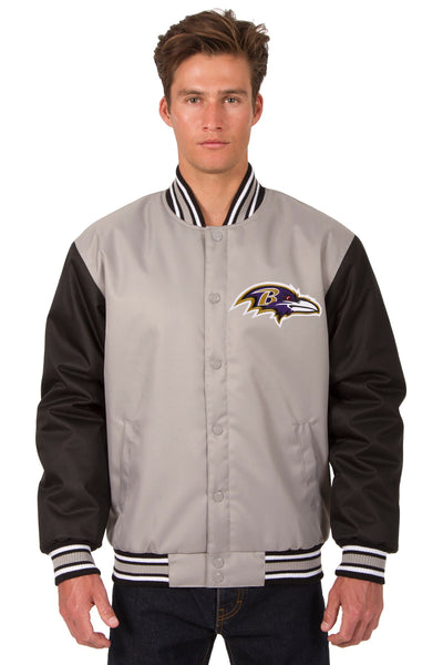 267d041b Baltimore Ravens Poly-Twill Jacket (Front Logo Only)