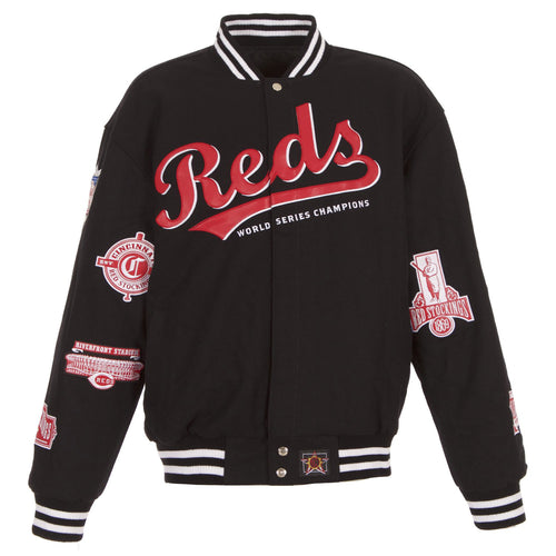 Cincinnati Reds Reversible Wool Jacket