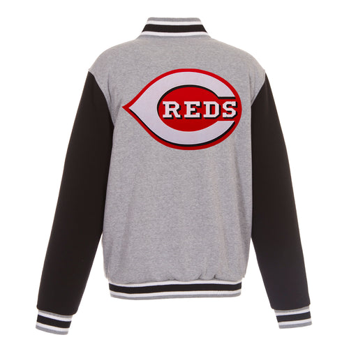 Cincinnati Reds Reversible Fleece Jacket