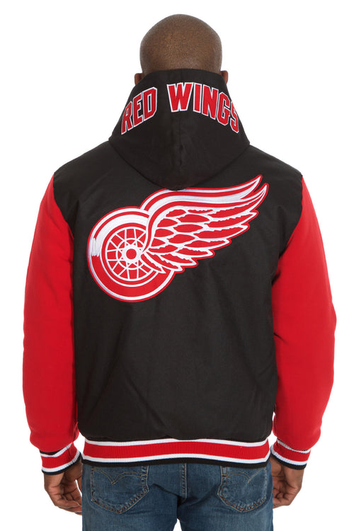 Detroit Red Wings Reversible Poly-Twill Jacket