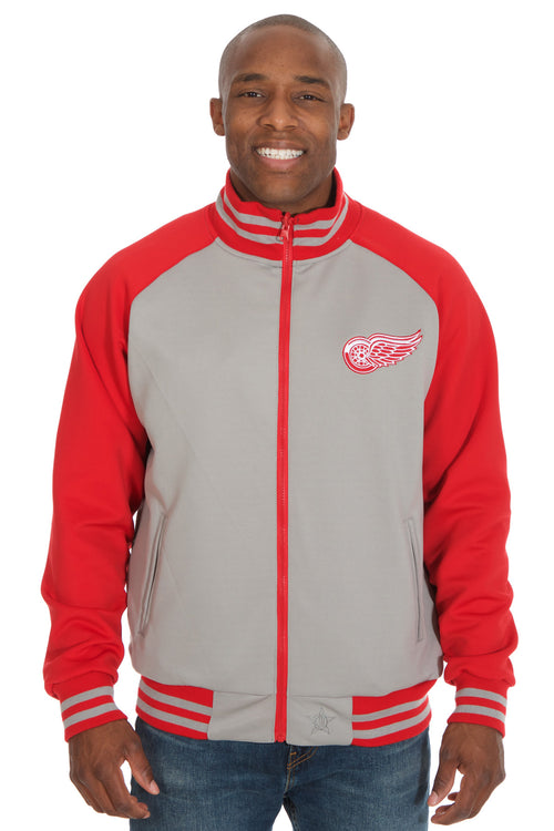 Detroit Red Wings Reversible Polyester Track Jacket