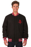 Houston Rockets Reversible All-Wool Jacket